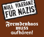 Null Tolleranz für Nazis